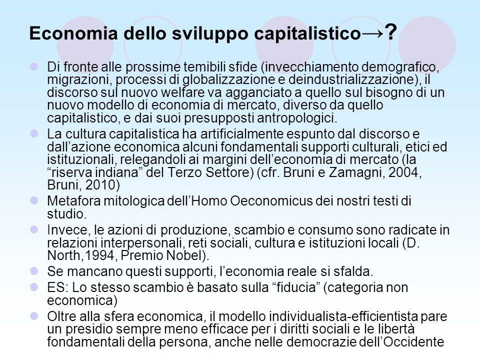 Economia dello sviluppo capitalistico .