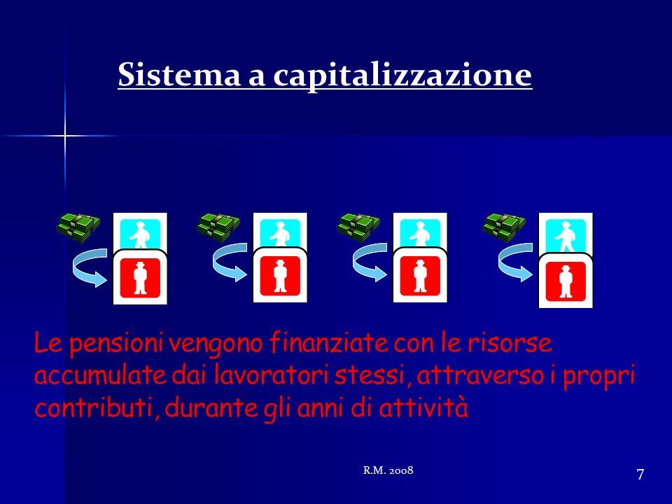 R.M. 2008 7 Sistema a capitalizzazione