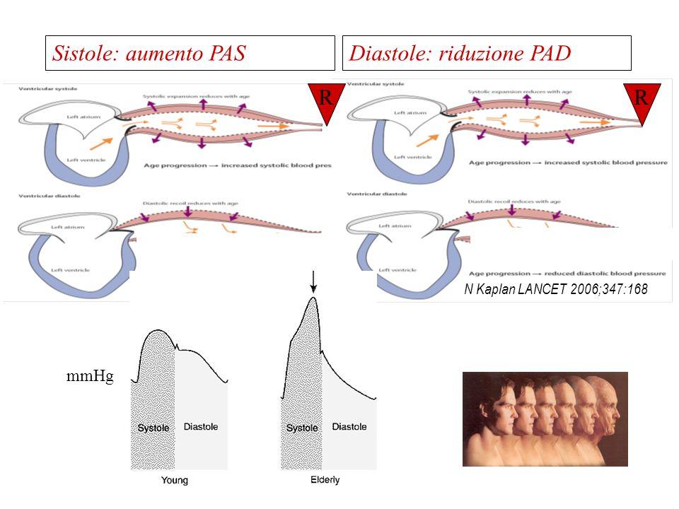 Insufficien za cardiaca IVS Disfunzione diastolica Cardiopatia ipertensiva nellanziano Perdità del sincronismo cuore-grandi vasi Fibrillazione atriale Ischemia AP