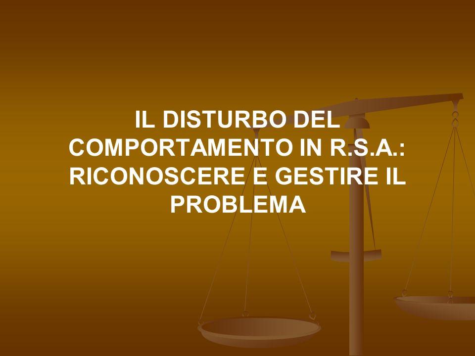 LE DEMENZE Le dimensioni del problema (1).