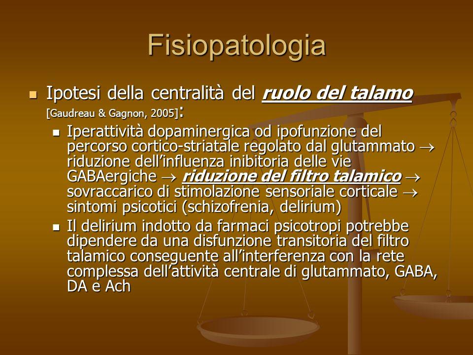 Fisiopatologia Ancora complessivamente misteriosa, oggetto di ricerca Ancora complessivamente misteriosa, oggetto di ricerca Alterazioni diffuse del S