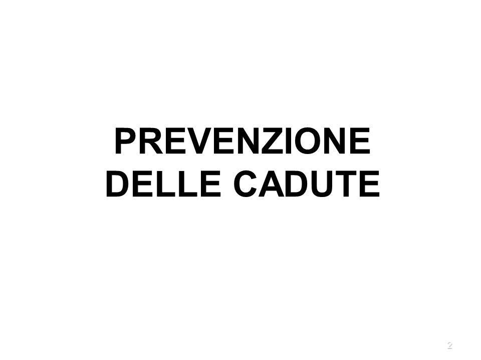 2 PREVENZIONE DELLE CADUTE