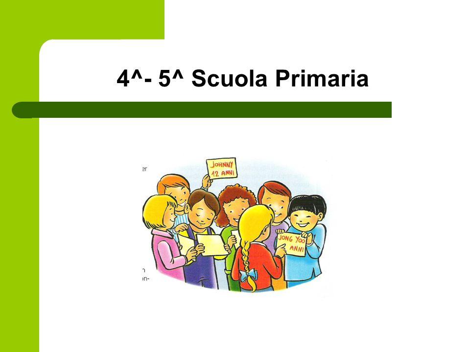 4^- 5^ Scuola Primaria