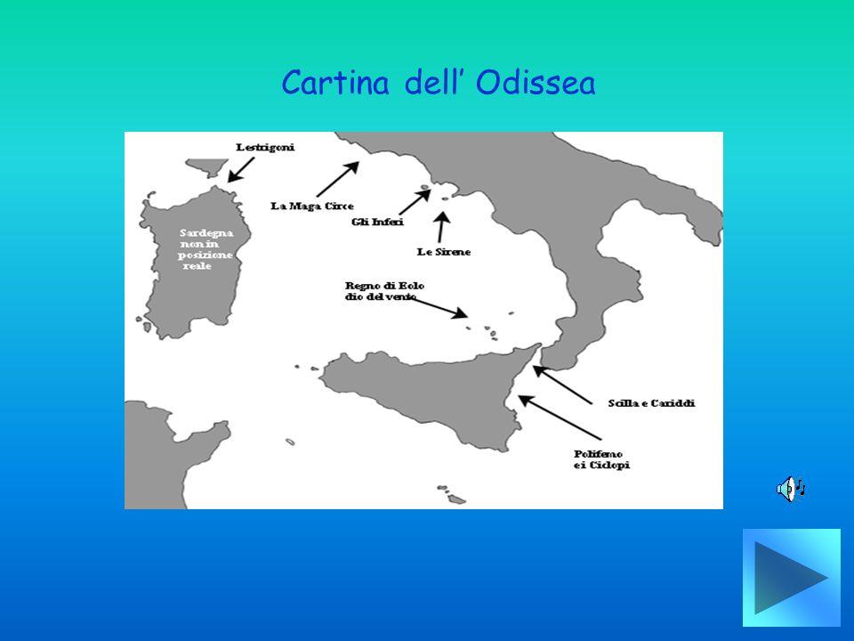 Cartina dell Odissea