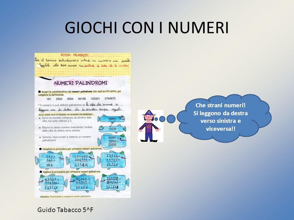GIOCHI CON I NUMERI Si trova sotto… … No questo numero sta sopra Il 4 è a destra Il 5 a sinistra?