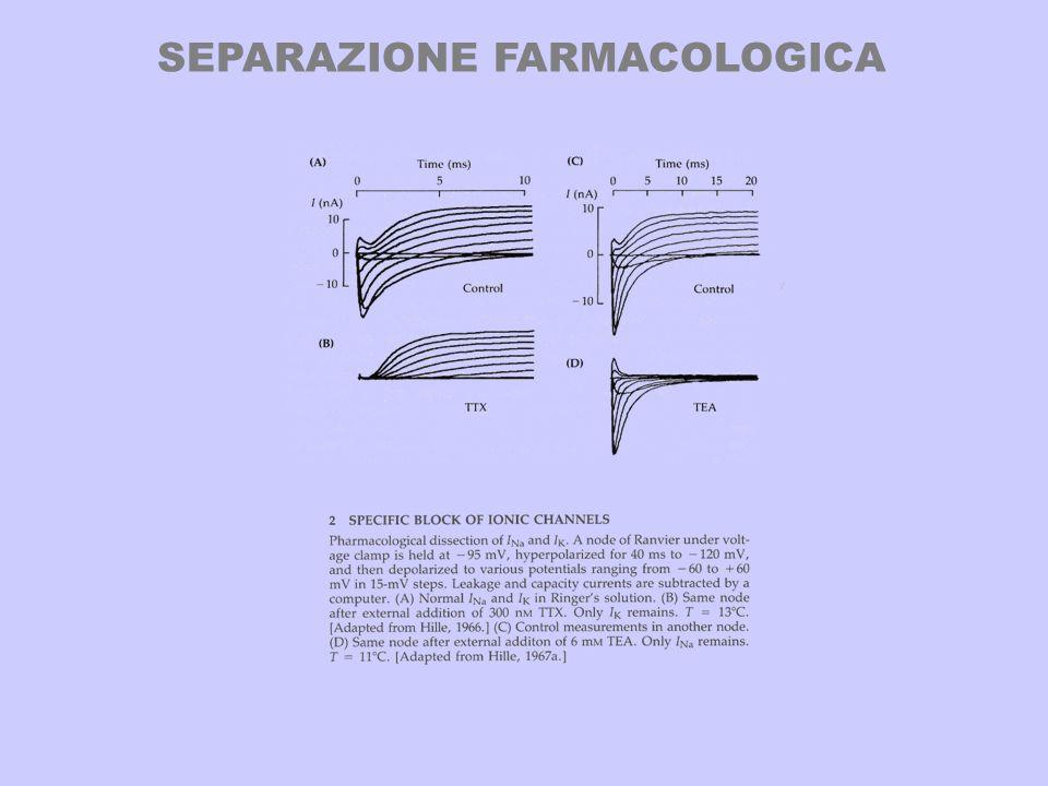 SEPARAZIONE FARMACOLOGICA