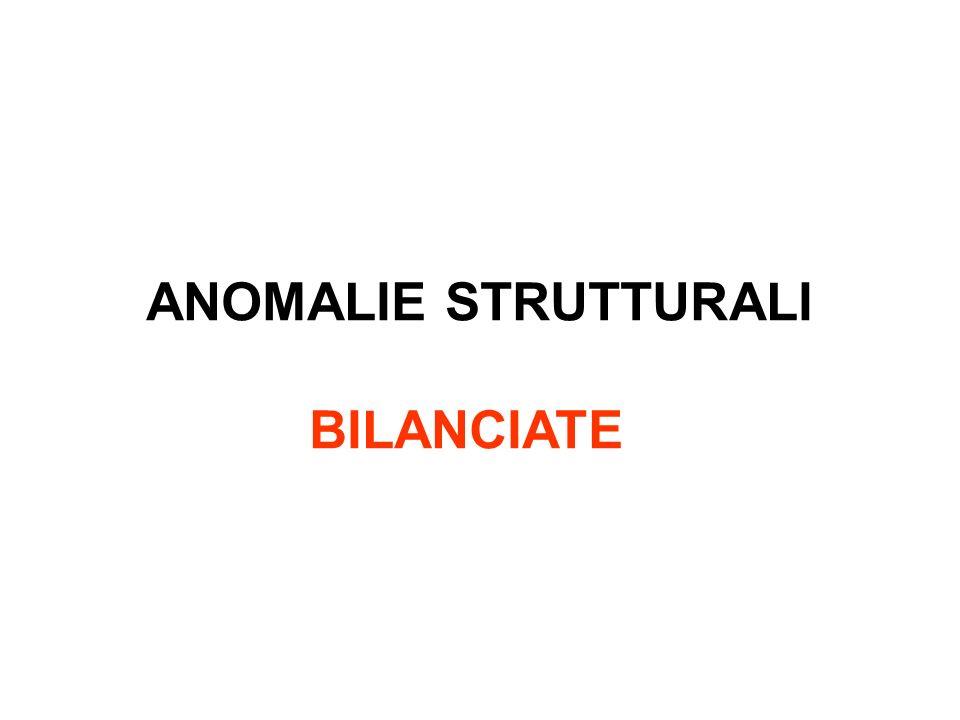 ANOMALIE STRUTTURALI BILANCIATE