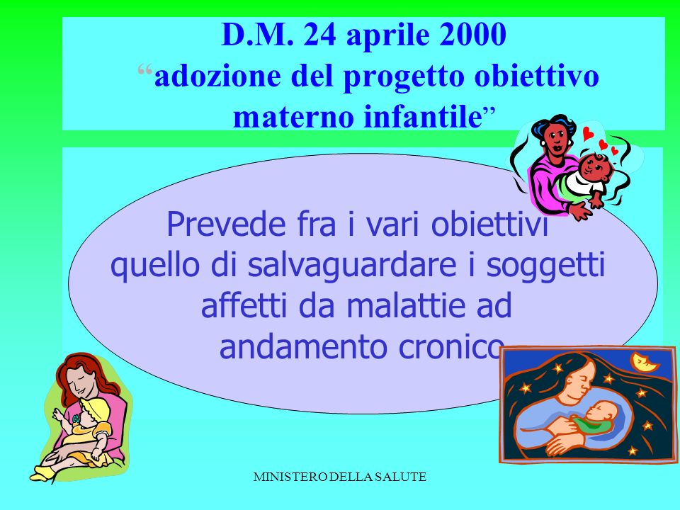 MINISTERO DELLA SALUTE D.M.