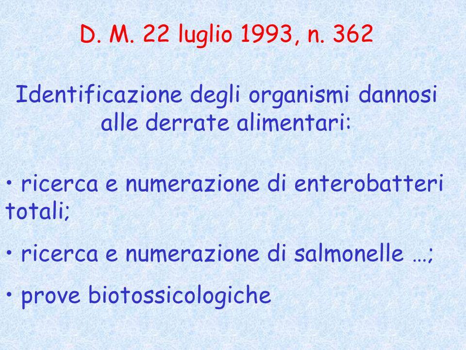 D.M. 22 luglio 1993, n.
