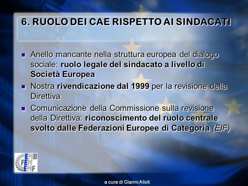 a cura di Gianni Alioti 6.