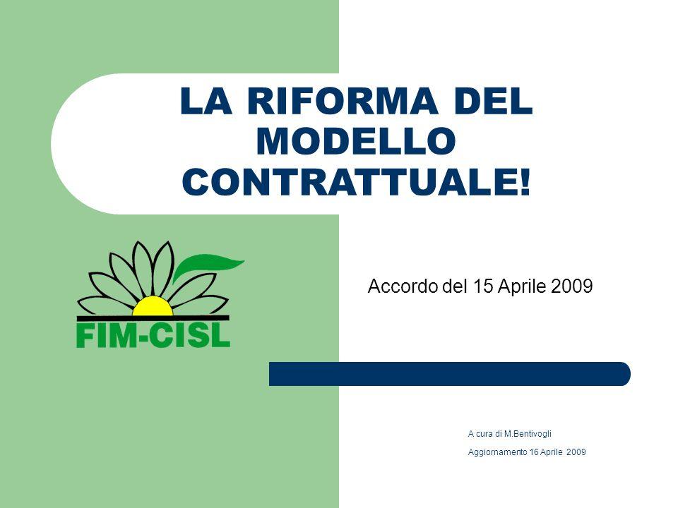 LA RIFORMA DEL MODELLO CONTRATTUALE.