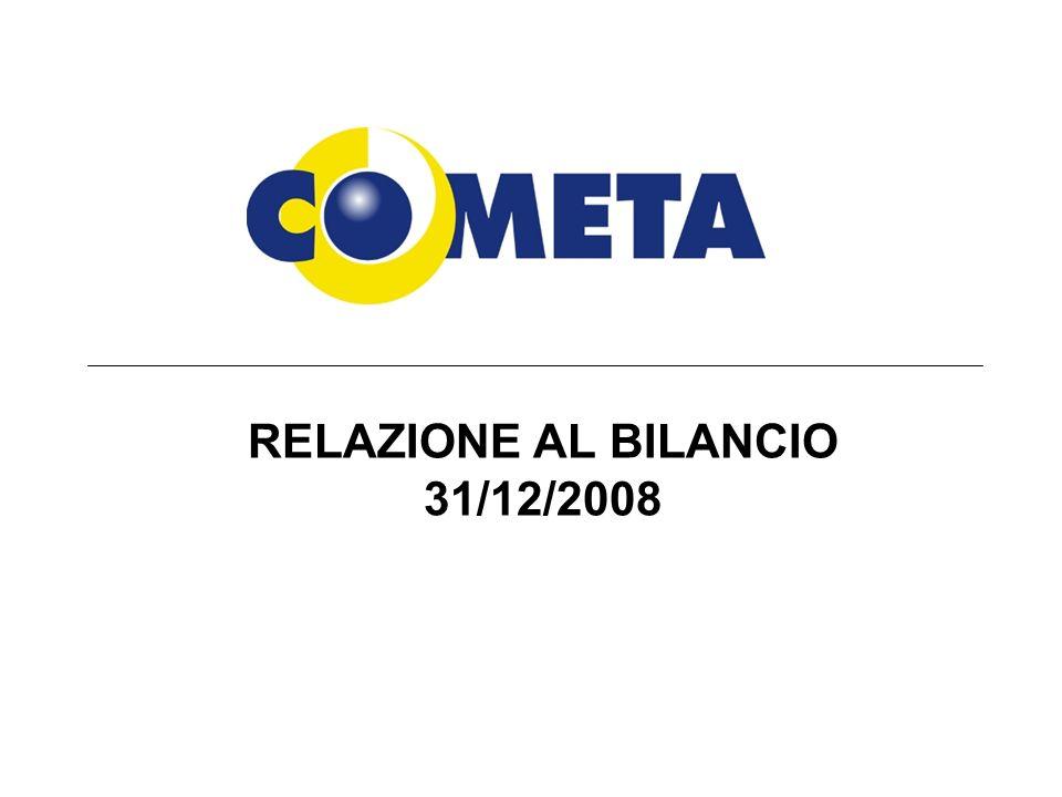 RELAZIONE AL BILANCIO 31/12/2008