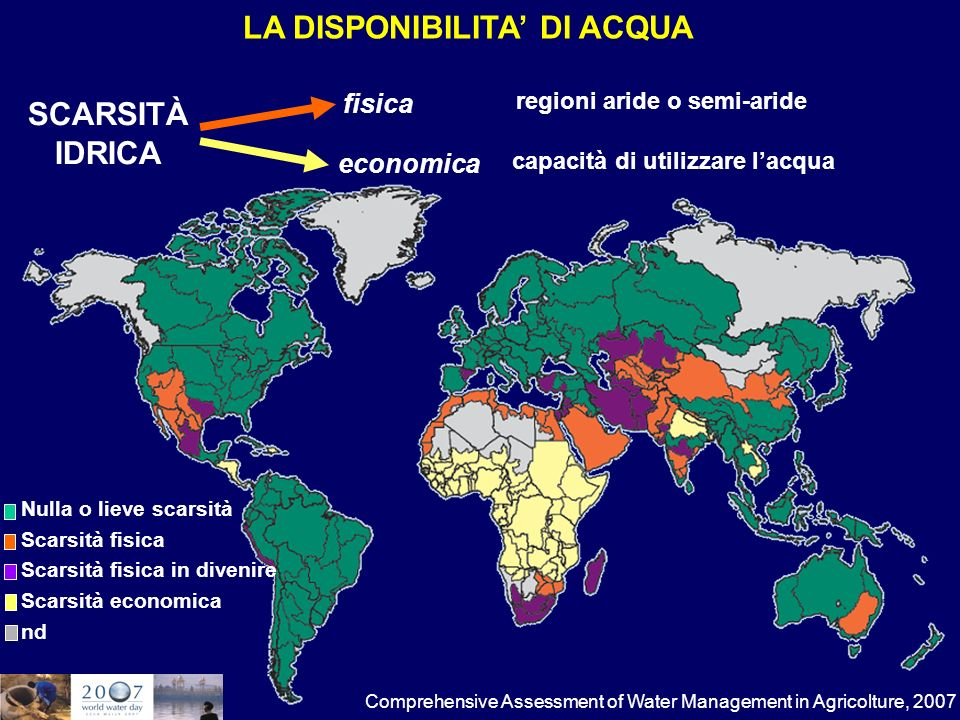 Percentuale di popolazione con accesso allacqua potabile, 1990-2008 e target 2015 Target 2015 T he European House-Ambrosetti su dati United Nations, The Millenium Development Goals Report, 2010.