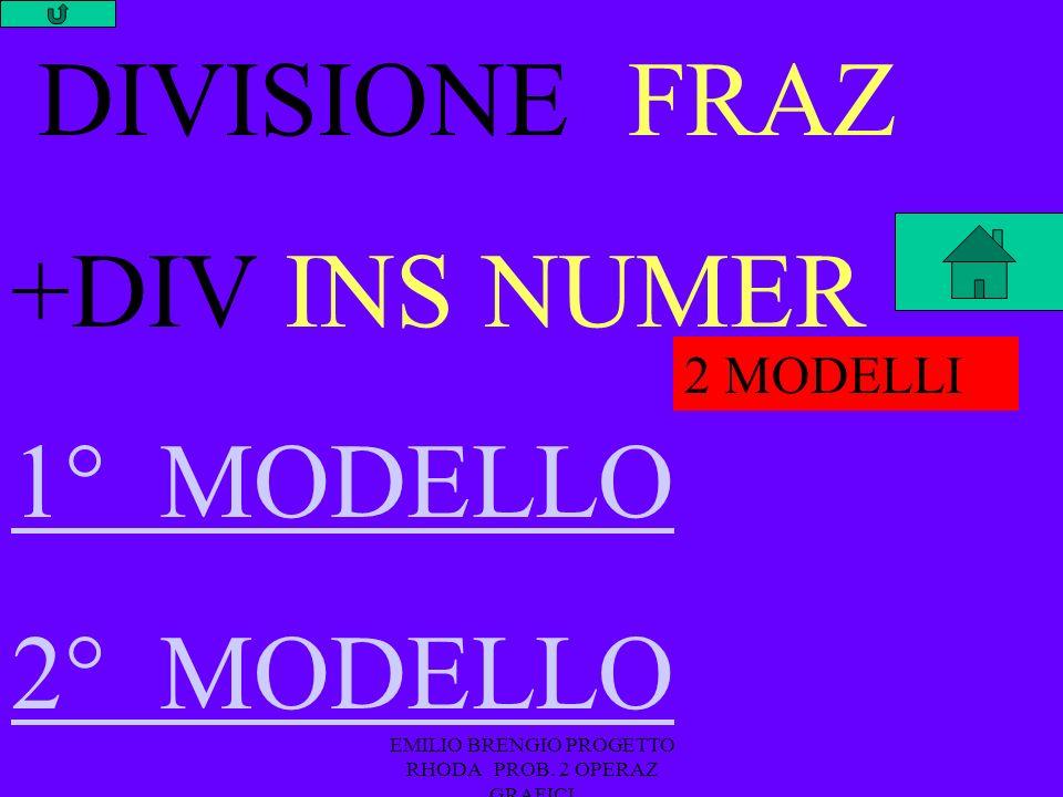 EMILIO BRENGIO PROGETTO RHODA PROB.2 OPERAZ GRAFICI x 2000 y y 10 8 DIVISIONE FRAZ MOLTIPLICAZ.