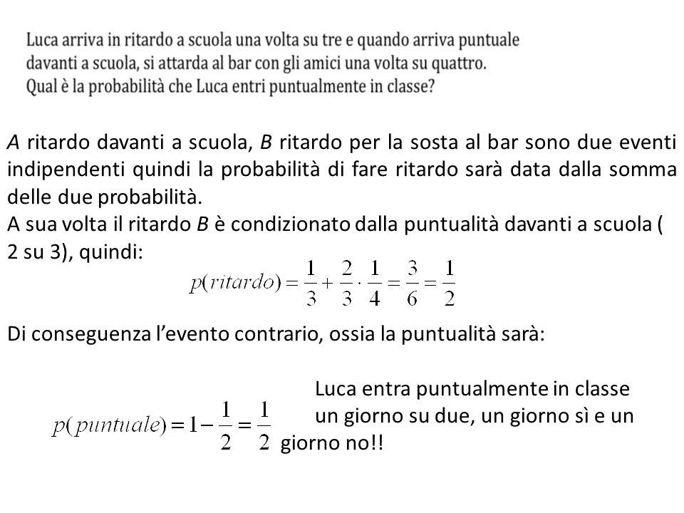 Si poteva risolvere il problema con le frazioni o con il m.