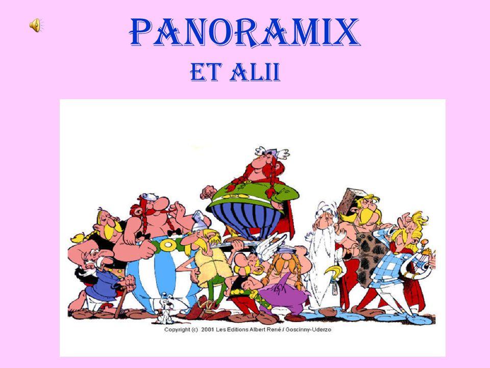 Panoramix personaggio di Asterix Lopera di Goscinny e Uderzo: Asterix La fonte di Asterix: il De Bello Gallico di Cesare I Druidi: Caes.