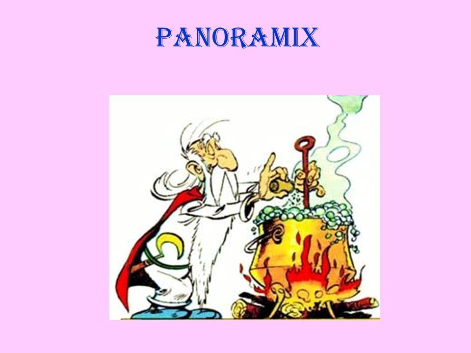 Panoramix, personaggio della saga a fumetti di Asterix creata da R.