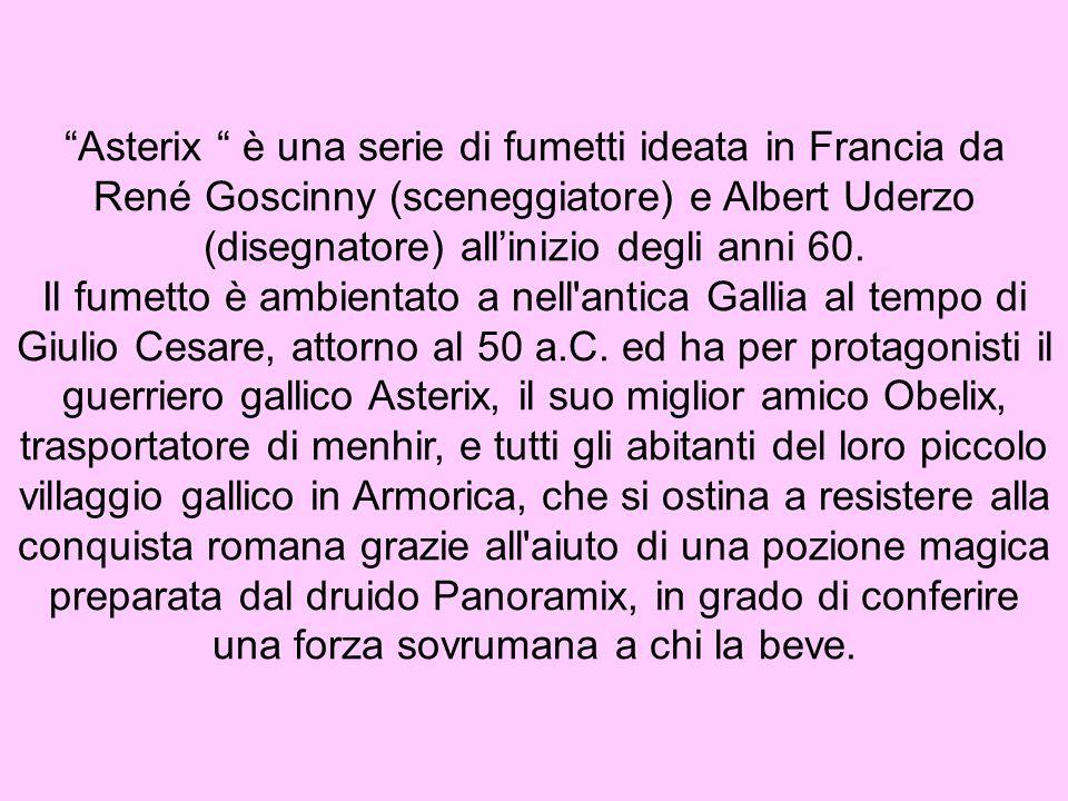 La nascita di Asterix (FR) « Astérix incarne malicieusement toutes les vertus de nos ancêtres les Gaulois.