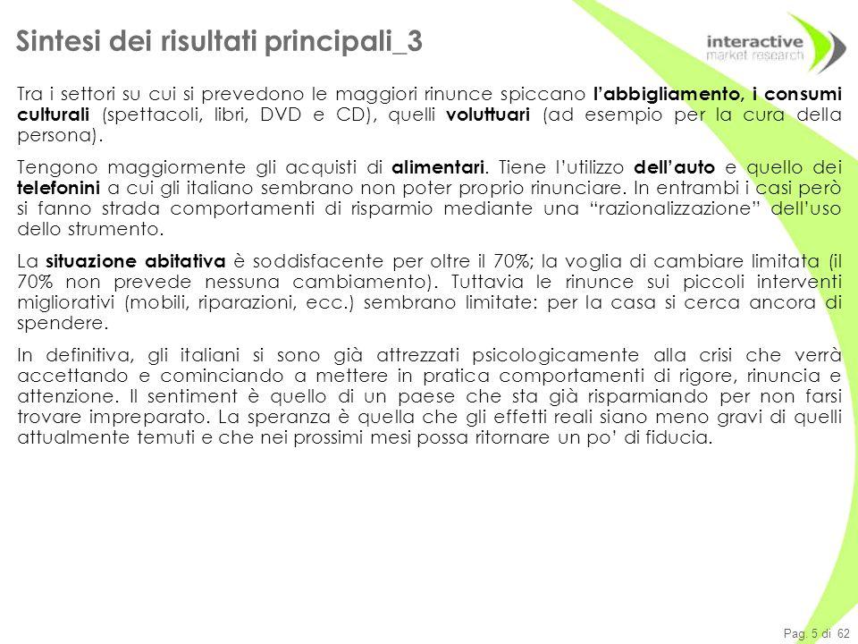 Pag.16 di 62 Mix delle spese 2008 vs. 2009: non si prevedono cambiamenti Q140./150.