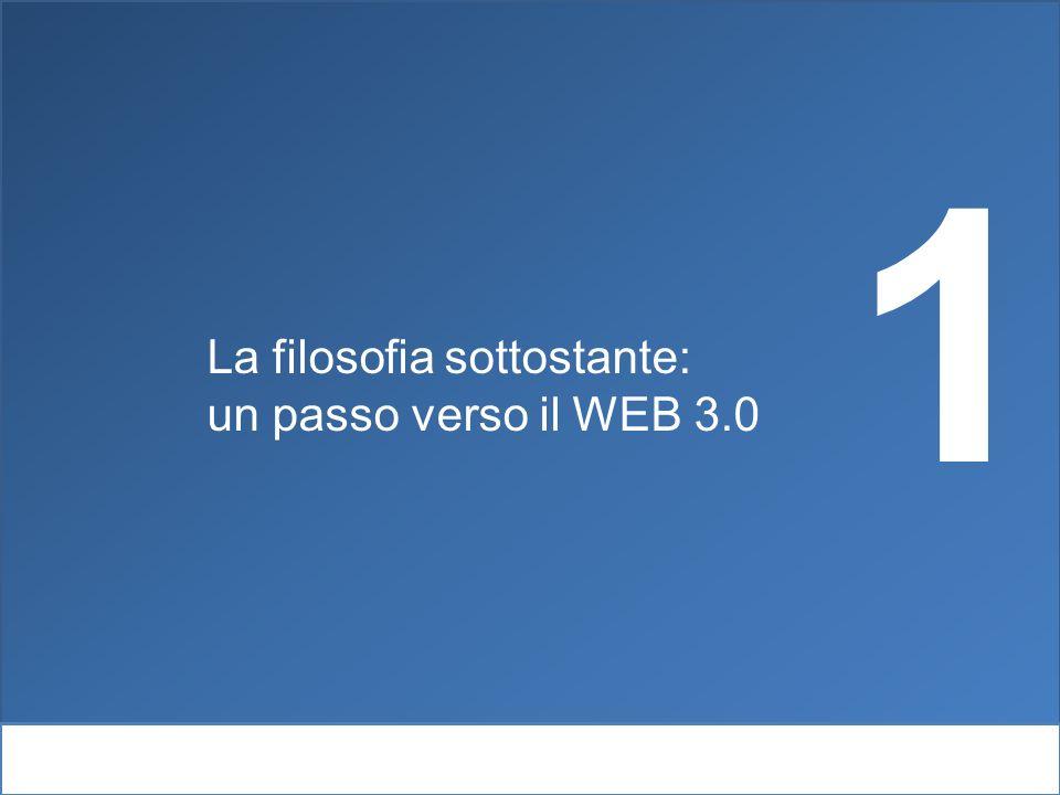 Webintelligence e psicolinguisitca La filosofia sottostante: un passo verso il WEB 3.0 1
