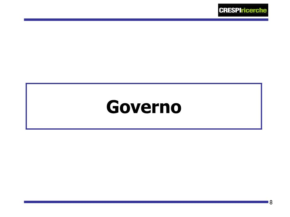 8 Governo