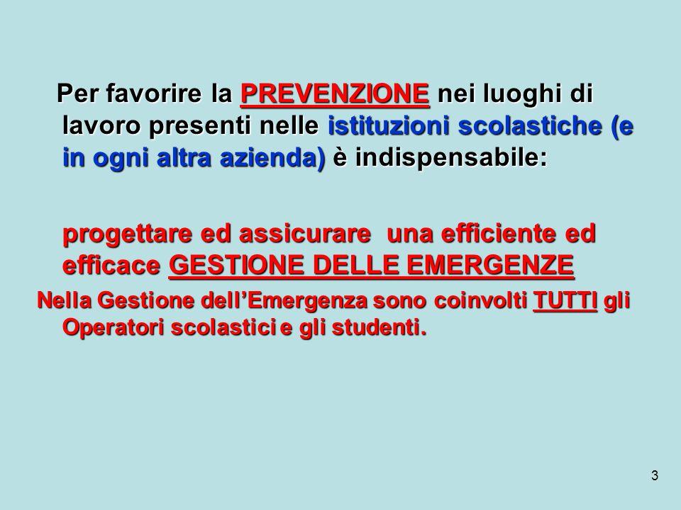 24 COMPITI SQUADRA ANTINCENDIO (continua) COMPITI SQUADRA ANTINCENDIO 11.