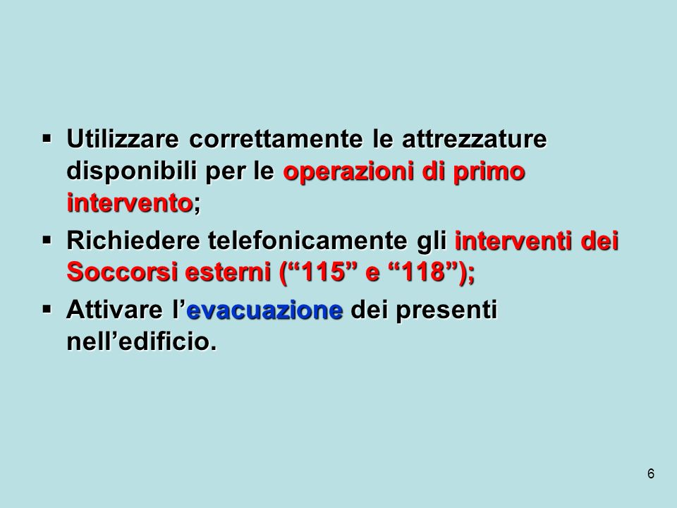 87 CONTENUTO DELLA CASSETTA DI PRIMO SOCCORSO (D.M.