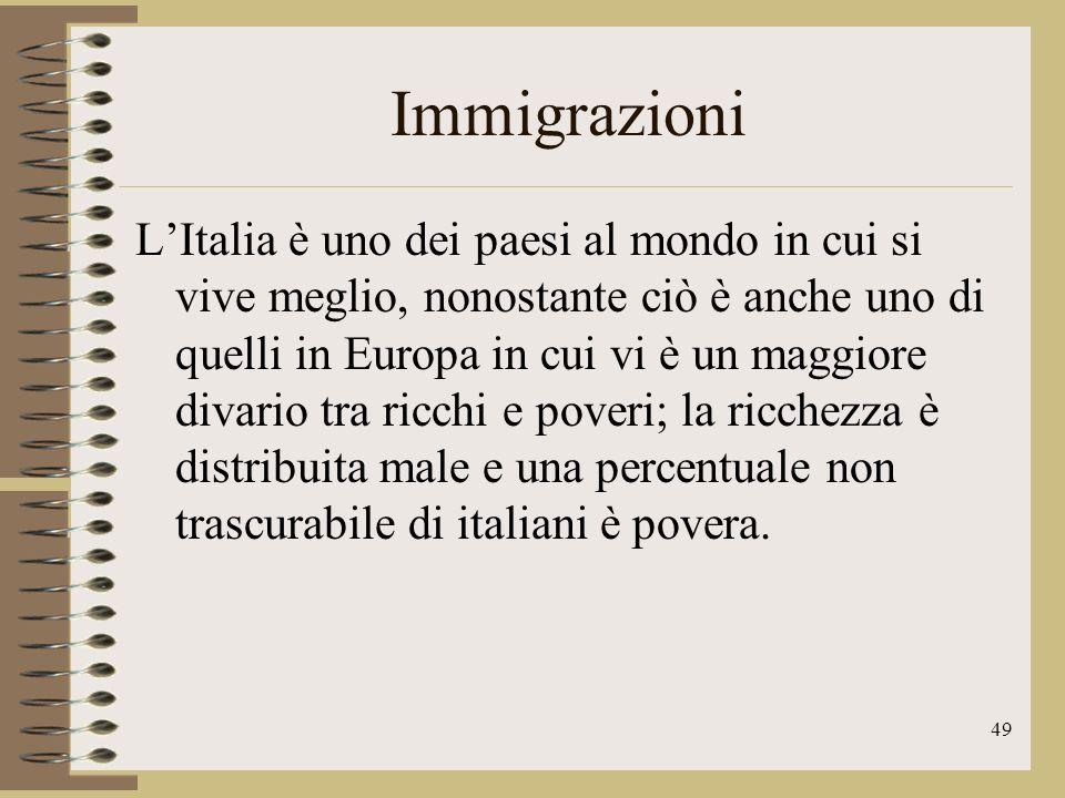 50 Lingua La lingua ufficiale della nostra repubblica è lItaliano, che tuttavia è presente anche in alcune zone di paesi come Svizzera Francia Croazia