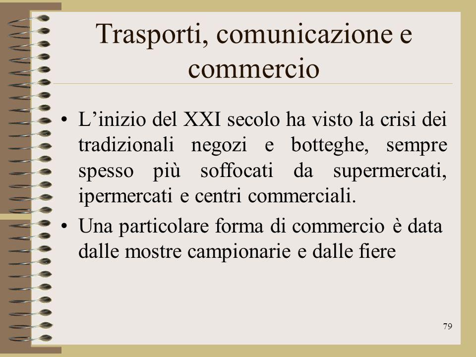 80 Il turismo Il turismo è una delle più importanti risorse economiche del nostro paese lItalia è al quinto posto nel mondo per numero di visitatori.