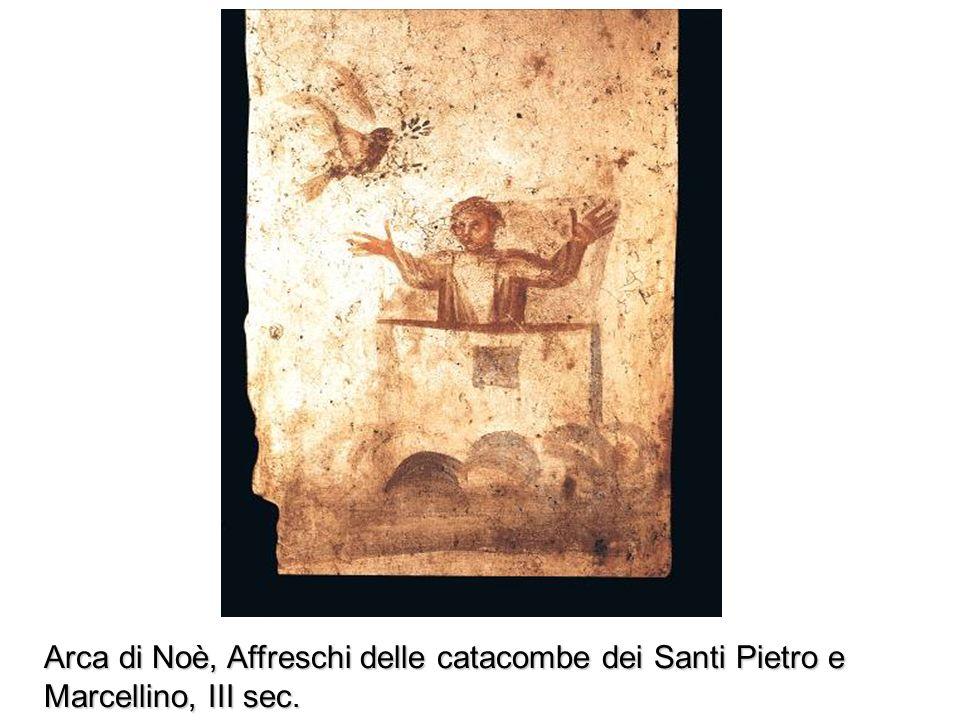 Arca di Noé, Salterio di S. Louis, XIII sec. Animali puri e impuri