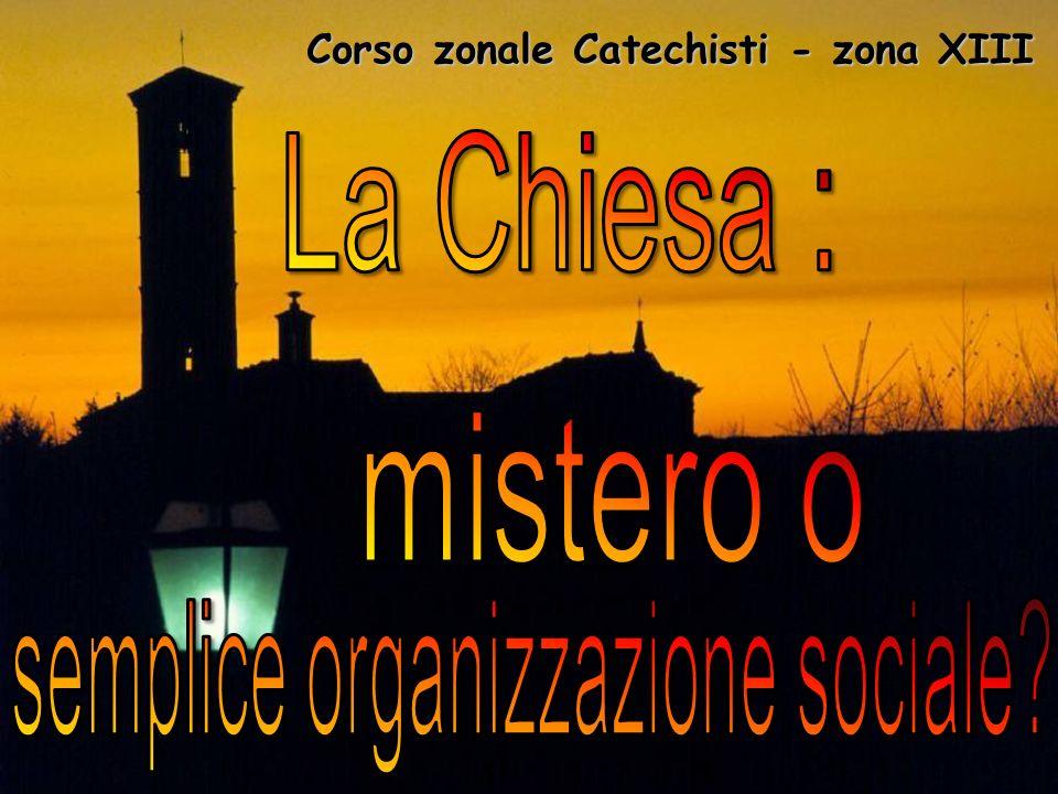 Corso zonale Catechisti - zona XIII