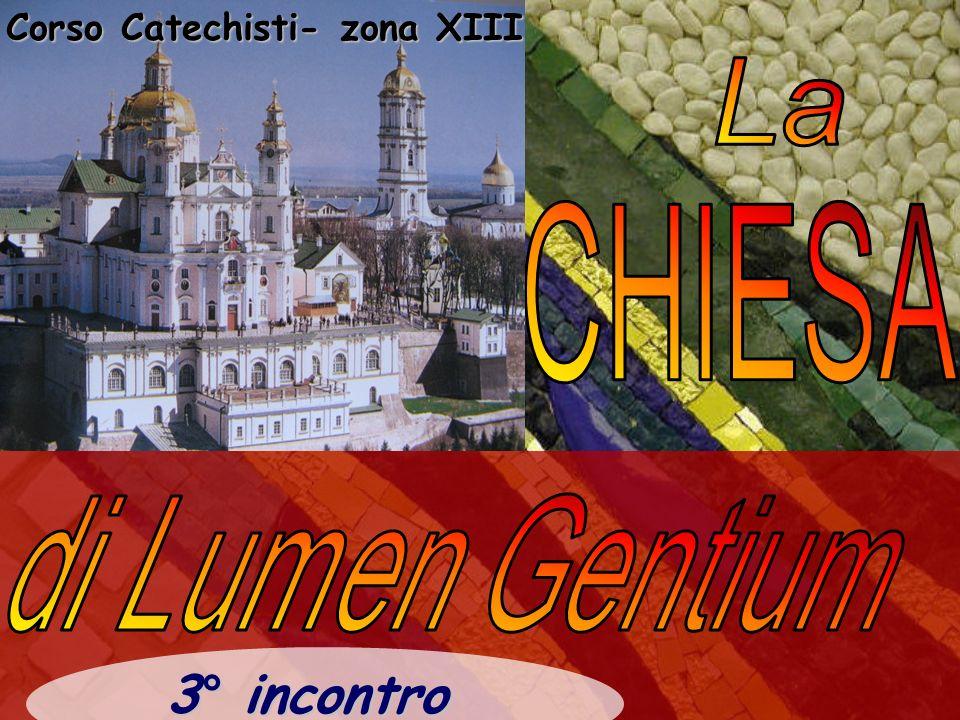 Corso Catechisti- zona XIII 3° incontro