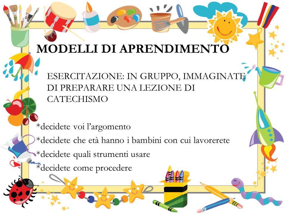 MODELLI DI APPRENDIMENTO TOP-DOWN VS COOPERATIVE LEARNING
