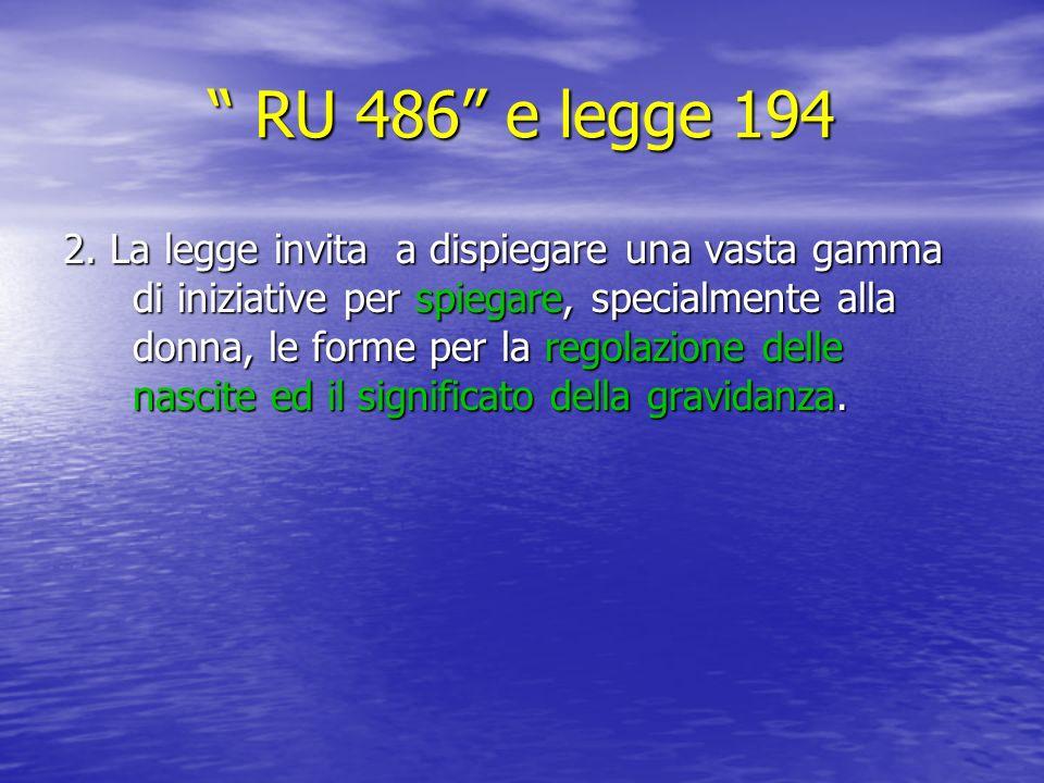 RU 486 e legge 194 RU 486 e legge 194 2.