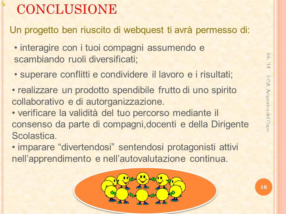 CONCLUSIONE feb.14 10 I.C.S.
