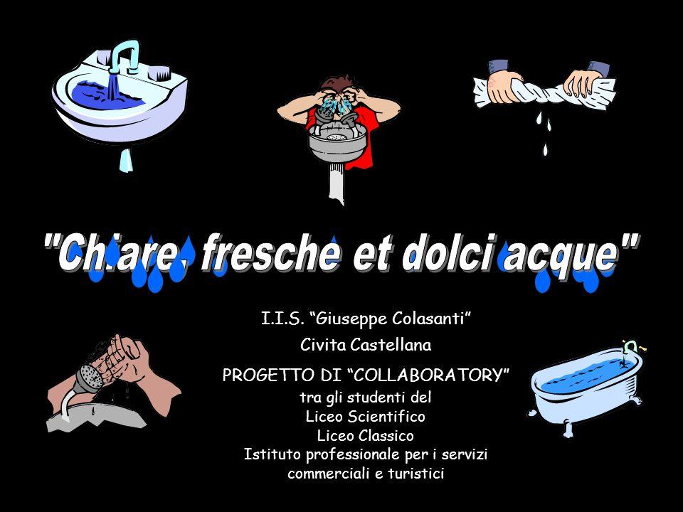 I.I.S. Giuseppe Colasanti Civita Castellana PROGETTO DI COLLABORATORY tra gli studenti del Liceo Scientifico Liceo Classico Istituto professionale per