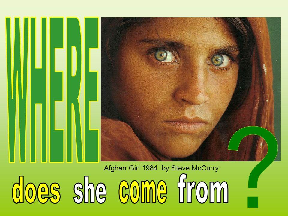 Afghan Girl 1984 by Steve McCurry