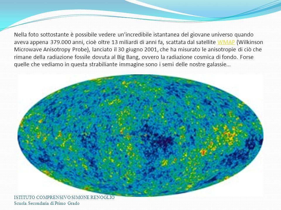 Nella foto sottostante è possibile vedere un'incredibile istantanea del giovane universo quando aveva appena 379.000 anni, cioè oltre 13 miliardi di a
