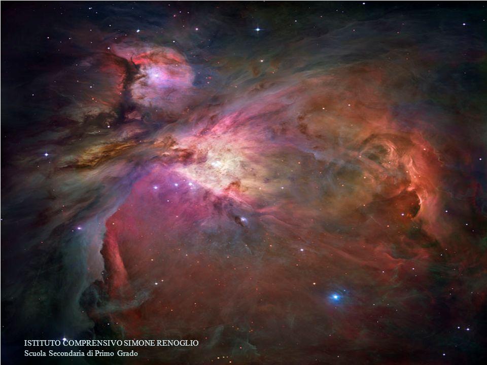 La nebulosa di Orione La grande nebulosa di Orione dista circa 1600 anni luce da noi.