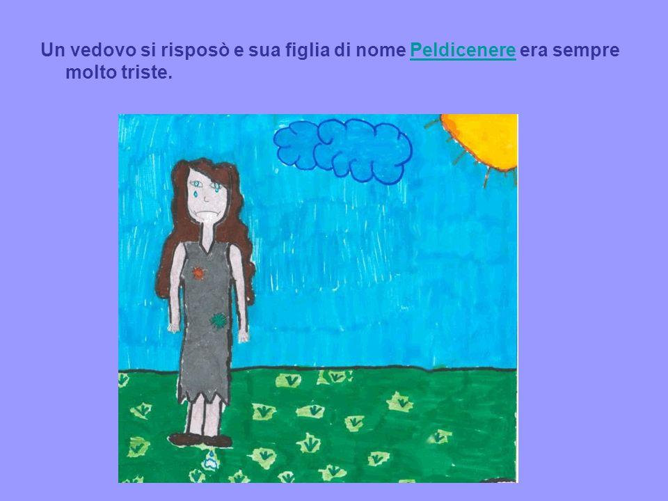 Un vedovo si risposò e sua figlia di nome Peldicenere era sempre molto triste.Peldicenere