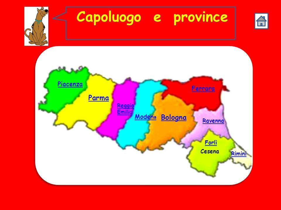 FIUMI LEmilia Romagna è ricca di fiumi: il Po e i suoi affluenti di destra, tra cui il Taro, il Secchia, il Panaro e il Reno,che nasce in Toscana e at