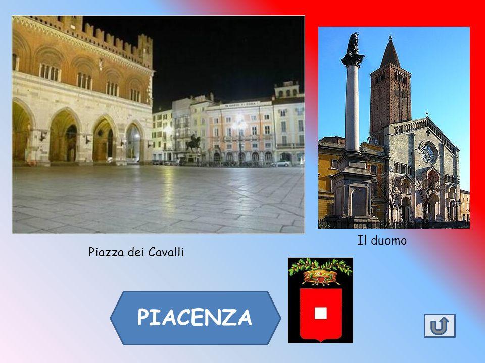 PARMA Il passato della città di Parma è testimoniata da due tra i maggiori edifici romanici d'Italia, il duomo e il battistero.