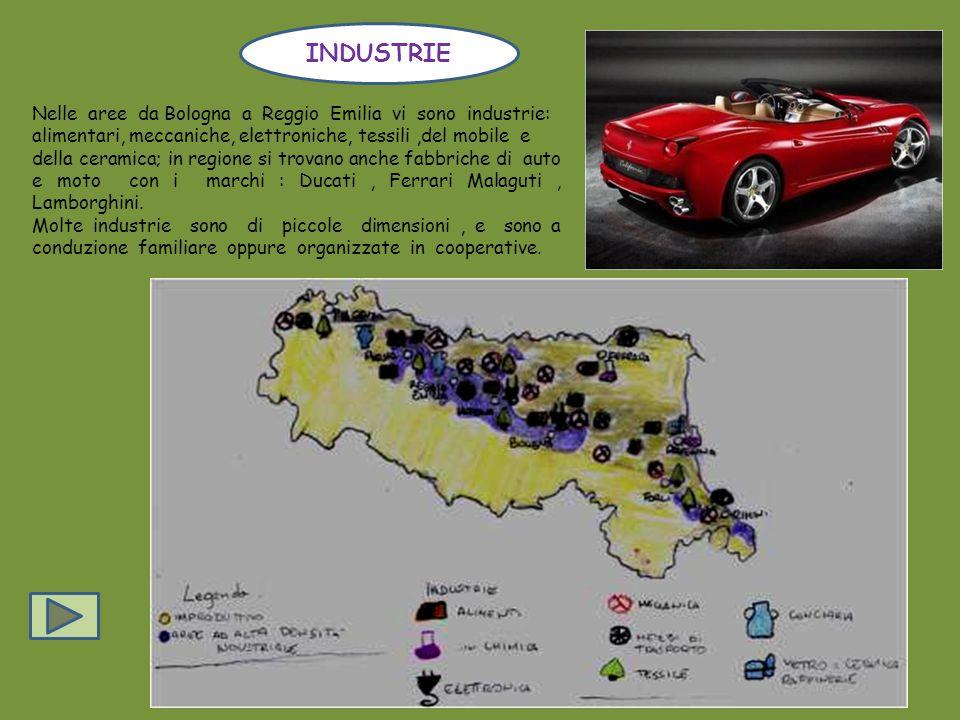 Lagricoltura è praticata con tecniche moderne, la regione è la prima in Italia Per la produzione di barbabietole da zucchero e grano. Altre coltivazio