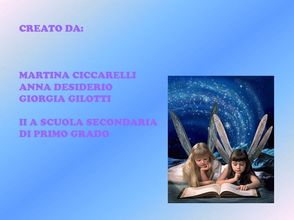 CREATO DA: MARTINA CICCARELLI ANNA DESIDERIO GIORGIA GILOTTI II A SCUOLA SECONDARIA DI PRIMO GRADO