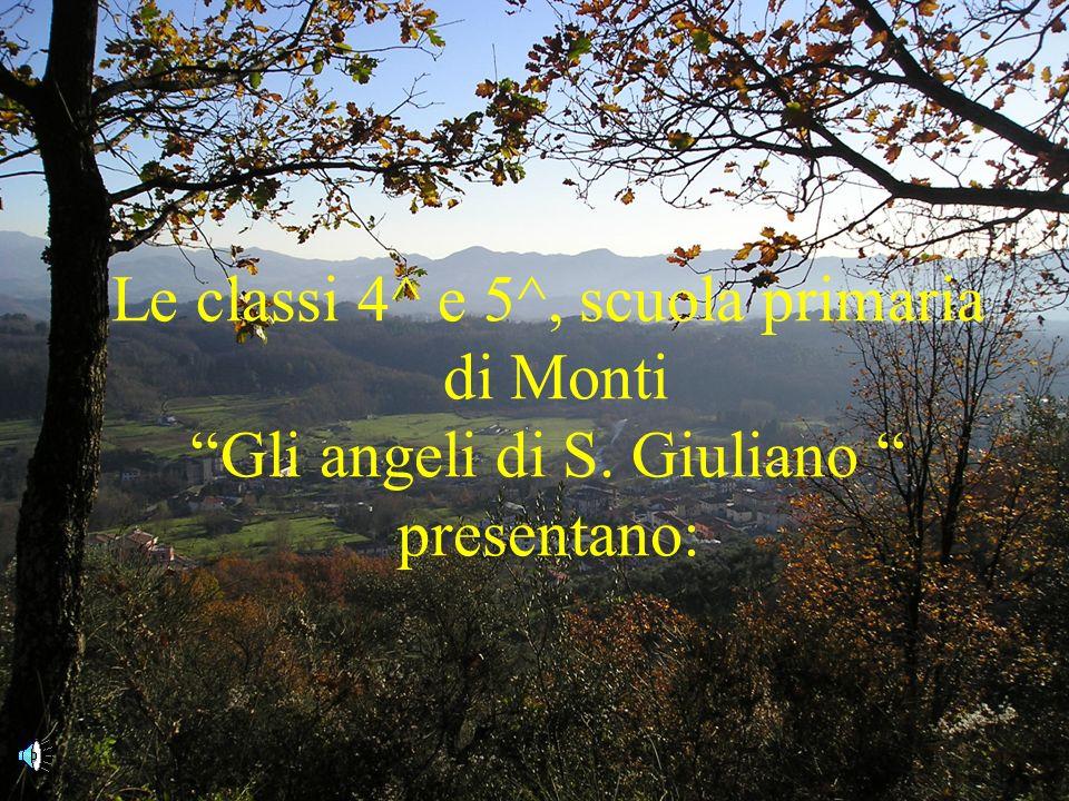 Le classi 4^ e 5^, scuola primaria di Monti Gli angeli di S. Giuliano presentano: