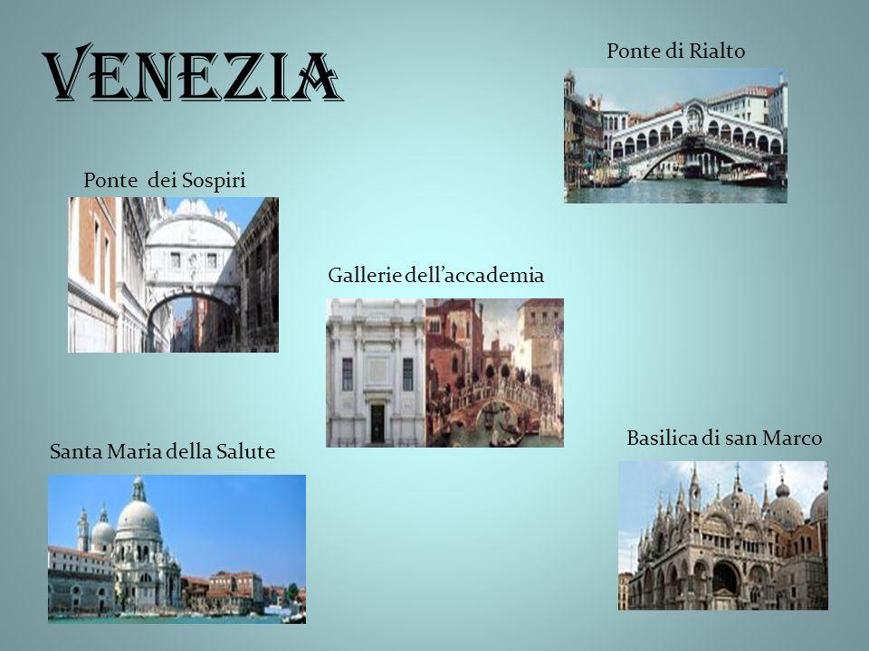venezia Ponte dei Sospiri Ponte di Rialto Santa Maria della Salute Gallerie dellaccademia Basilica di san Marco