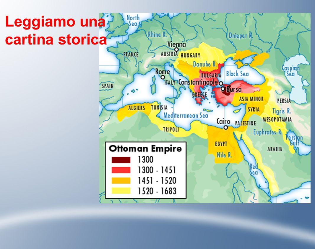 Leggiamo una cartina storica