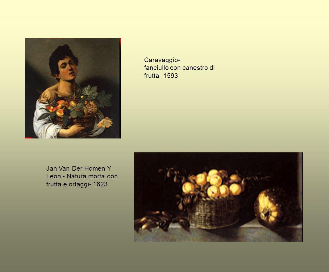 attribuito al Pensionante dei Saraceni - natura morta con frutta e caraffa - 1596- 1598 Fede Galizia - Natura morta- 1610 ca.