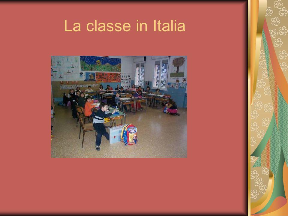 La classe in Italia