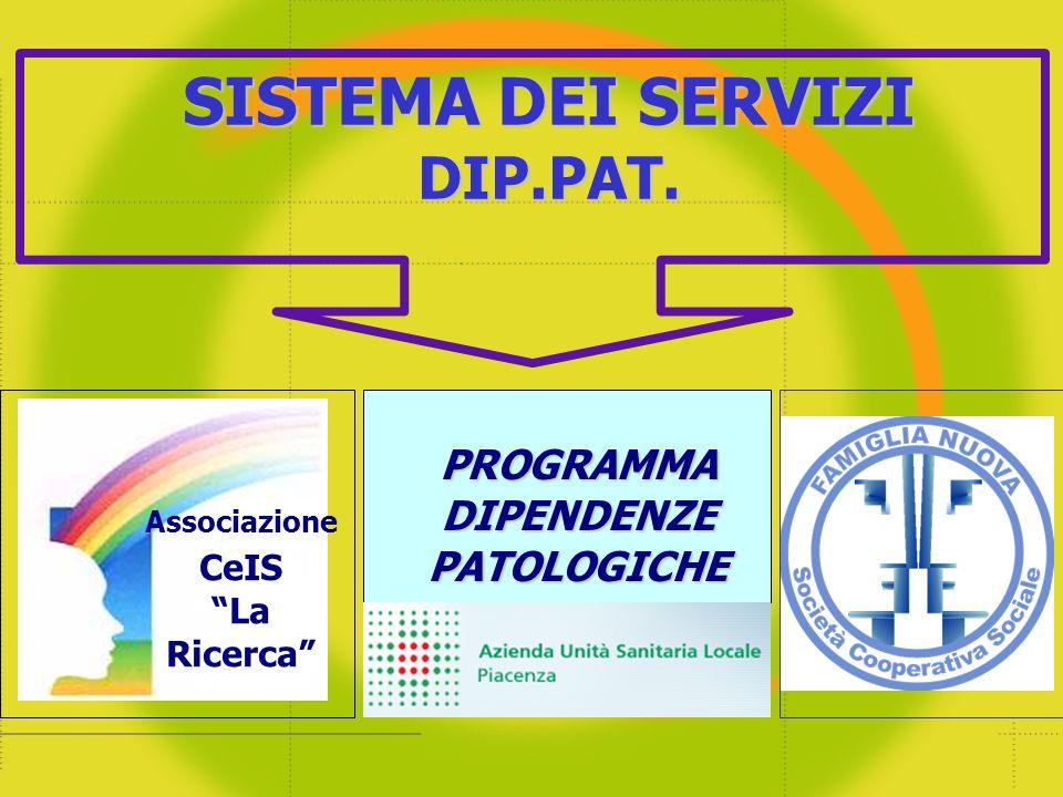 Gli Utenti del Sistema dei Servizi a Piacenza – (dip.alcol)